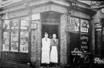 Albemarle Road Post Office, circa 1922.