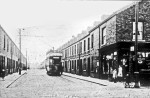 Post Office in Albermarle Road, at junction with Queen Victoria Street. Trams ran to here from 1913- ca1935.