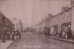 Bishopthorpe Road around turn of century, Ebor Street junction on right.