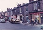 The off-licence in 1984 is now Costcutter. The fruit shop has been a greengrocers since 1911. (Photo: Rob Stay)
