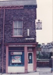 No 1 Vine St was a pianoforte dealer and beer seller in 1891, and remained an off-licence until at least 1975. In 1911 the Potter family lived there with 8 children. Owned by the Shaw family since 1933, it was briefly a PO and newsagent. (Photo: Rob Stay)