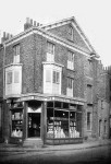 Co-op shop at junction of Nunnery Lane with Bishopthorpe Road, now demolished and green space.