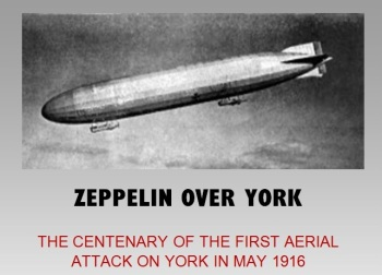 The impact of Zeppelin bombing on our area