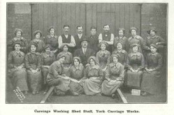 The contribution of women in the First World War