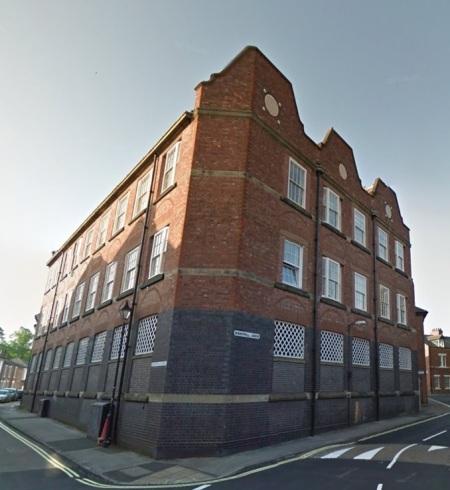 Cooke's No 2 factory, built 1915