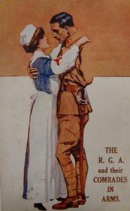 A World War One postcard